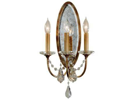 Feiss Valentina Oxidized Bronze Three-Light 10.5'' Wide Wall Sconce FEIWB1543OBZ