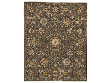 Feizy Rugs Amherst Charcoal Rectangular Area Rug FZ0758FCHARCOAL