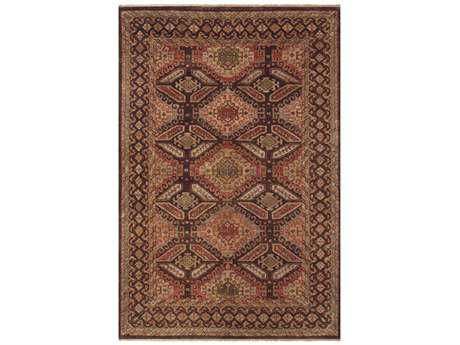 Feizy Rugs Ashi Rectangular Brown Area Rug FZ6127FBROWN
