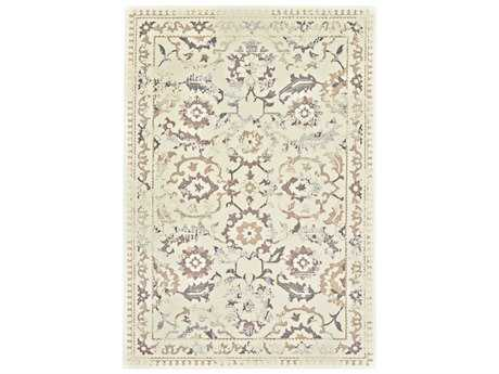 Feizy Azeri III Rectangular Cream & Gray Area Rug FZ3861FCREAMGRAY