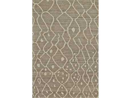 Feizy Rugs Barbary Rectangular Natural Gray Area Rug