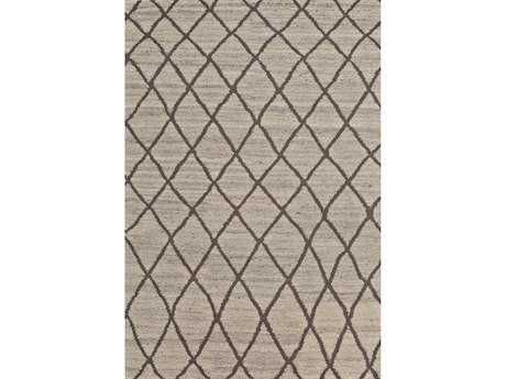 Feizy Rugs Barbary Rectangular Natural Linen Area Rug