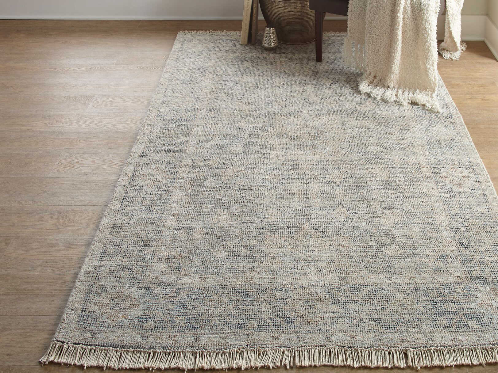Feizy Rugs Caldwell Gray Rectangular Area Rug 8799f Gray