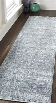 Feizy Rugs Cecily Blue / Turquoise 2'3'' x 8' Runner Rug