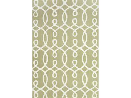 Feizy Rugs Cetara Rectangular Green & White Area Rug