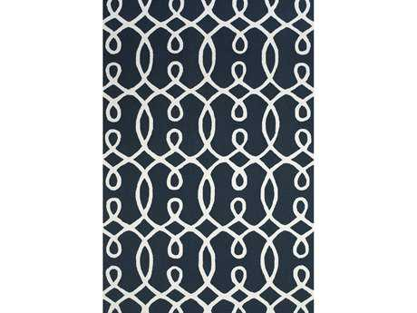 Feizy Rugs Cetara Rectangular Navy Area Rug