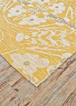 Feizy Coronado Rectangular Yellow Area Rug FZ0523FYELLOW