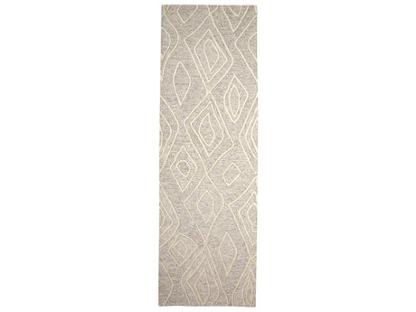 Feizy Rugs Enzo Ivory / Natural 2'6'' x 8' Runner Rug