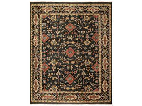 Feizy Rugs Goshen Rectangular Black Area Rug