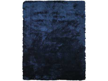 Feizy Rugs Indochine Rectangular Dark Blue Area Rug FZ4550FBLUE