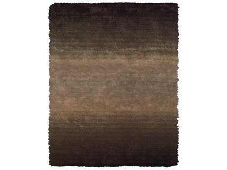 Feizy Indochine Rectangular Brown Area Rug FZ4551FBROWN