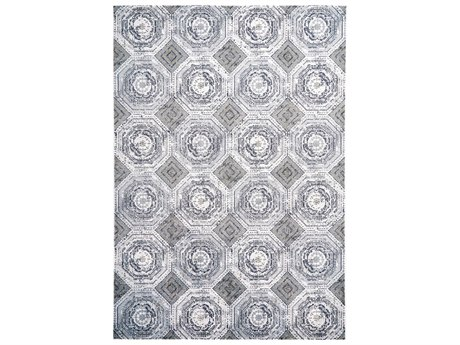 Feizy Rugs Marigold White / Sterling Rectangular Area Rug
