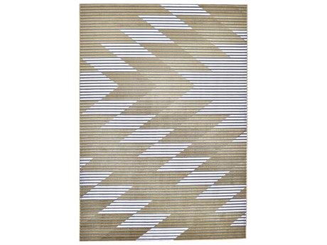 Feizy Rugs Marigold Gray / Gold Rectangular Area Rug
