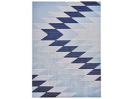Feizy Rugs Marigold Gray / Light Blue Rectangular Area Rug