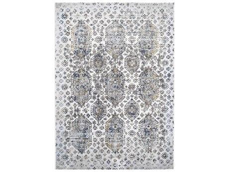 Feizy Rugs Marigold White / Gray Rectangular Area Rug