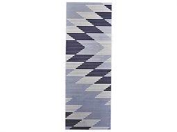 Marigold Gray / Light Blue 2'10'' X 8' Runner Rug