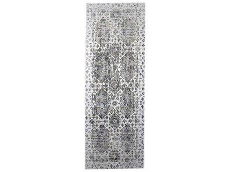 Feizy Rugs Marigold White / Gray 2'10'' X 8' Runner Rug