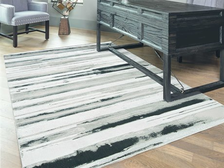 Feizy Rugs Micah Silver Rectangular Area Rug