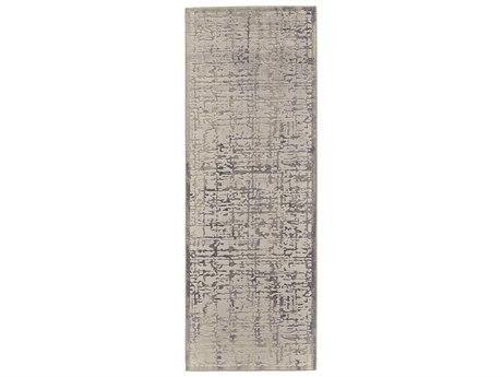 Feizy Rugs Prasad Gray 2'10'' X 7'10'' Runner Rug