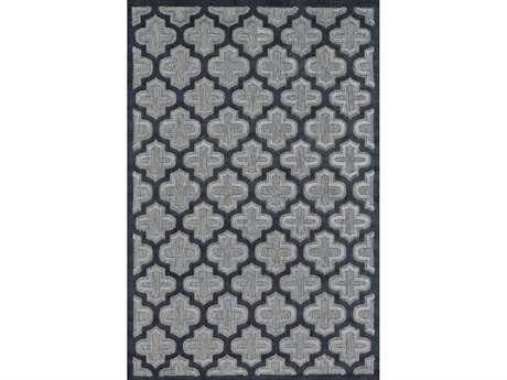 Feizy Rugs Raphia II Rectangular Black Area Rug
