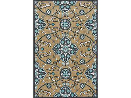 Feizy Rugs Raphia II Rectangular Tan & Charcoal Area Rug