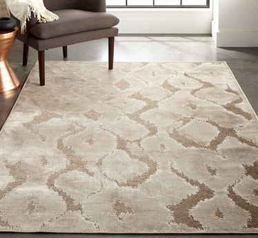 Feizy Rugs Saphir Zam Pewter / Gray 1'9'' X 2'10'' Rectangular Area Rug FZ3250FPEWTERGRAY