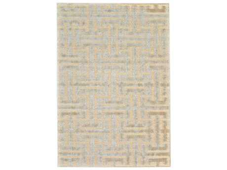 Feizy Saphir Zam Rectangular Cream & Ecru Area Rug FZ3251FCREAMECRU