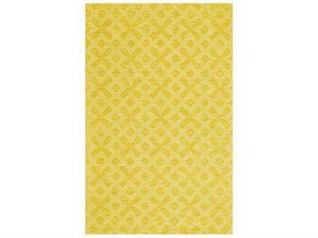 Feizy Soma Rectangular Yellow Area Rug FZ8344FYELLOW
