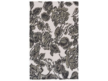 Feizy Rugs Swann Gray / Black Rectangular Area Rug