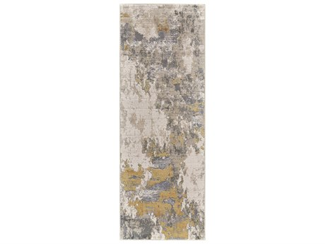 Feizy Rugs Waldor Gold / Birch 2'10'' X 7'10'' Runner Rug