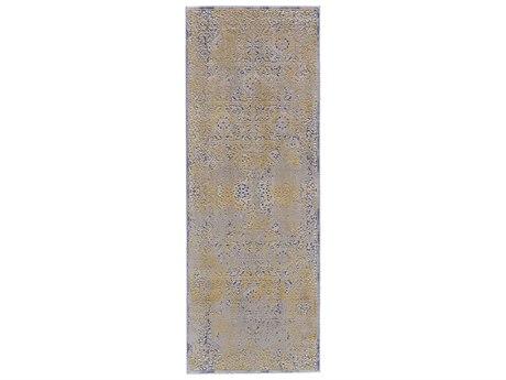 Feizy Rugs Waldor Gold / Sand 2'10'' X 7'10'' Runner Rug