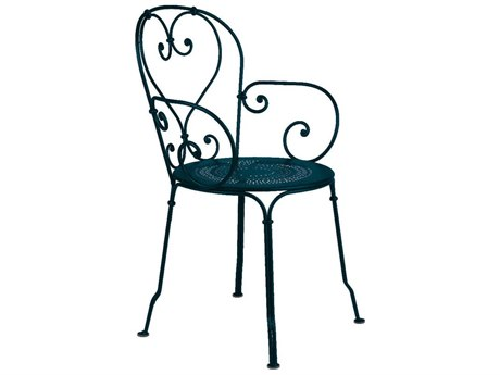 Fermob 1900 Steel Metal Dining Chair (Set of 2) PatioLiving