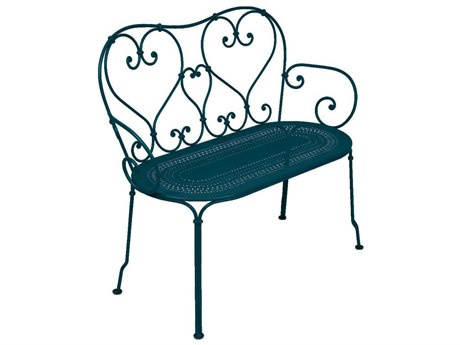 Fermob 1900 Steel Metal Bench PatioLiving