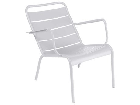 Fermob Luxembourg Aluminum Metal Lounge Chair (Set of 2) PatioLiving