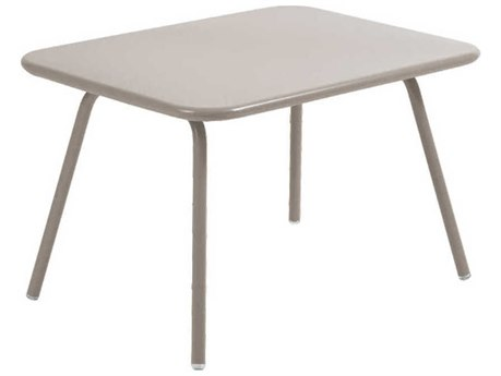 Fermob Luxembourg 30'' Wide Aluminum Rectangular Bistro Table - Kid Sized