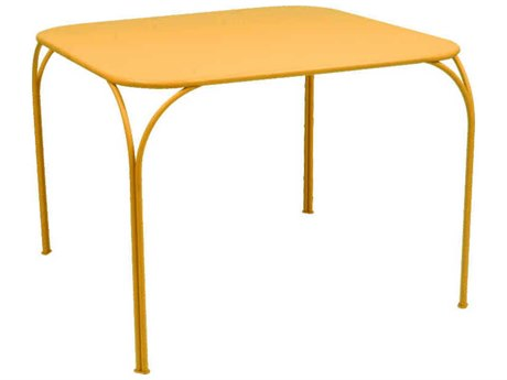 Fermob Kintbury 39'' Wide Steel Square Dining Table