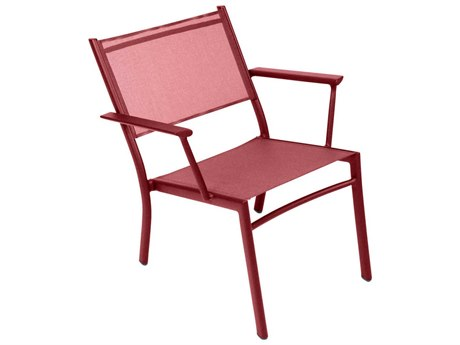 Fermob Costa Aluminum Sling Dining Chair (Set of 2)