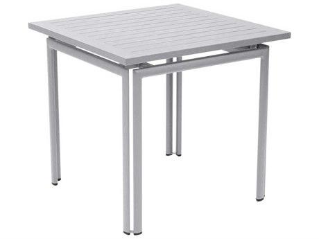 Fermob Costa 32'' Wide Aluminum Square Bistro Table