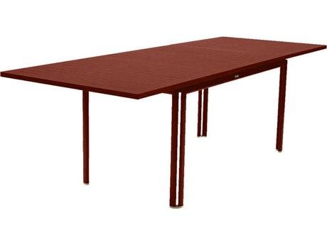 Fermob Costa 63 - 95'' Wide Aluminum Rectangular Dining Table