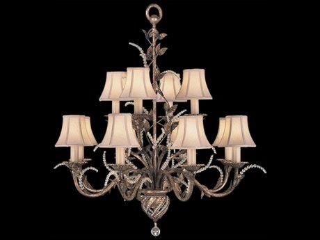 Fine Art Lamps A Midsummer Nights Dream 138540ST 12-Light 35'' Wide Grand Chandelier FA138540ST