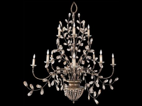 Fine Art Lamps A Midsummer Nights Dream 175940ST 12-Light 70'' Wide Grand Chandelier