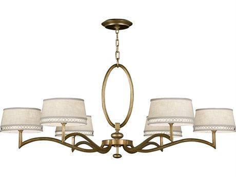 Fine Art Lamps Allegretto Gold 771740-2ST Six-Light 51'' Wide Grand Chandelier FA7717402ST