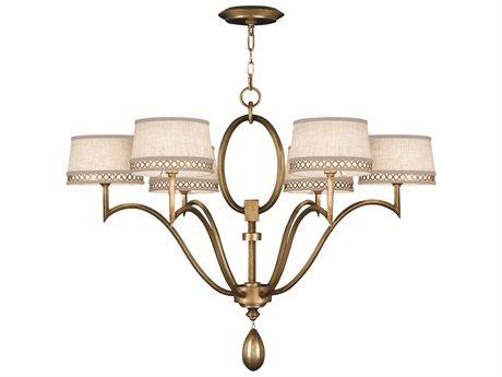 Fine Art Lamps Allegretto Gold 785840-2ST Six-Light 39'' Wide Grand Chandelier FA7858402ST