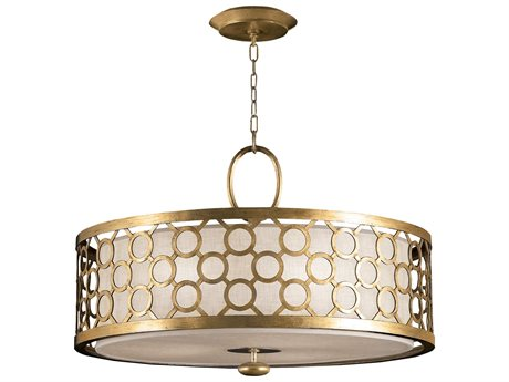 Fine Art Lamps Allegretto Gold 780140-2ST Three-Light Pendant