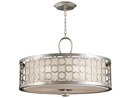 Fine Art Lamps Allegretto Silver 780140ST Three-Light Pendant FA780140ST