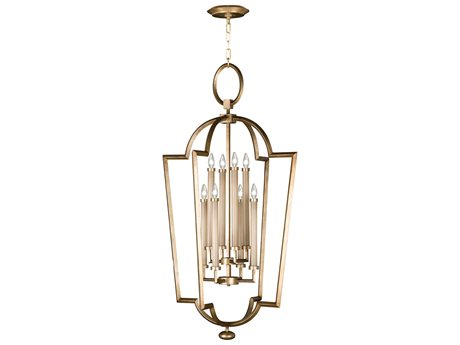 Fine Art Lamps Allegretto Gold 780440-2ST Eight-Light Pendant