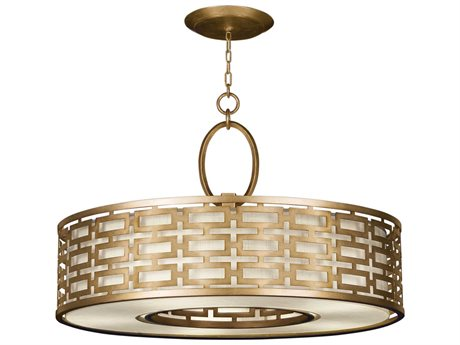 Fine Art Lamps Allegretto Gold 787640-2GU Five-Light Pendant
