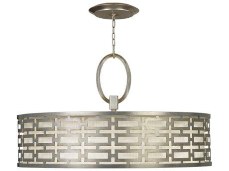 Fine Art Lamps Allegretto Silver 787640GU Five-Light Pendant FA787640GU