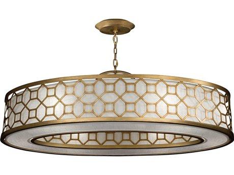 Fine Art Lamps Allegretto Gold 816640-2GU Six-Light Pendant FA8166402GU