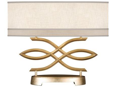 Fine Art Lamps Allegretto Gold 785710-2ST Two-Light Table Lamp FA7857102ST